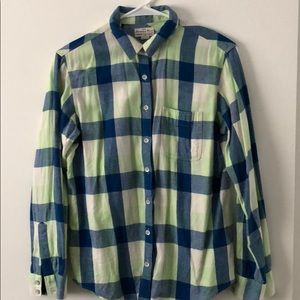 Madewell Flannel Shirt XS